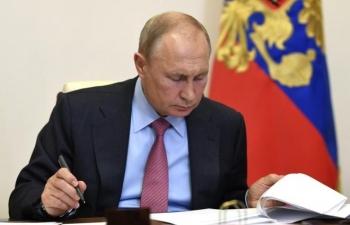 Tổng thống Putin ký luật miễn truy tố trọn đời cho các cựu tổng thống Nga