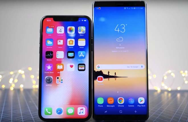 iphone x cu va galaxy note 8 moi may nao tot nhat o muc gia 15 trieu dong