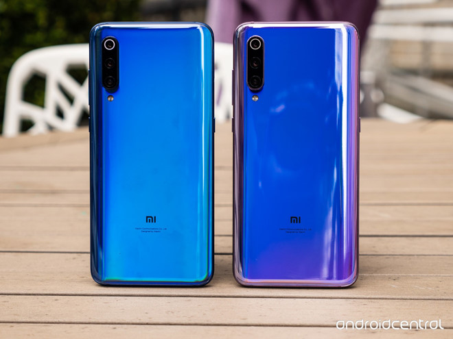 xiaomi mi 9 ra mat camera 48 mp chup hon iphone xs max 445 usd