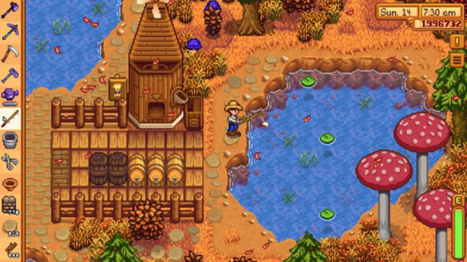 game dinh dam stardew valley sap do bo nen tang android
