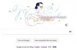 Nhạc sĩ Trịnh Công Sơn, nghệ sĩ Việt đầu tiên được vinh danh trên Google Search