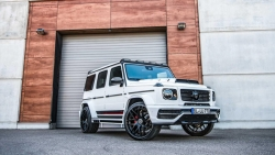 vua off road mercedes amg g63 do 6 ong xa dong co sieu manh