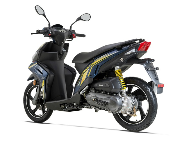can canh xe ga 2019 benelli vz125i gia re khien honda air blade giat minh