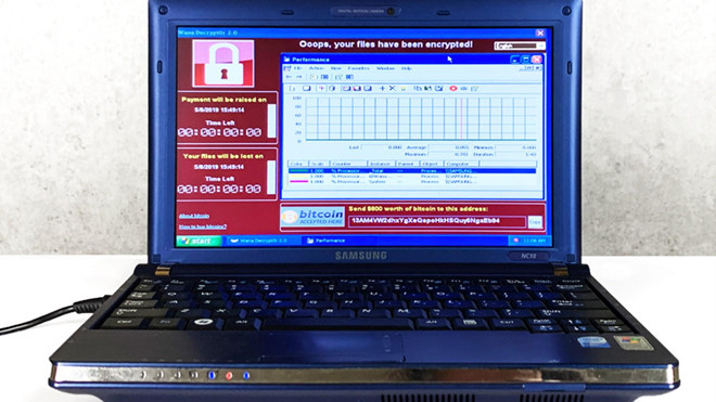 chiec laptop gom 6 loai virus nguy hiem nhat gia 12 trieu usd