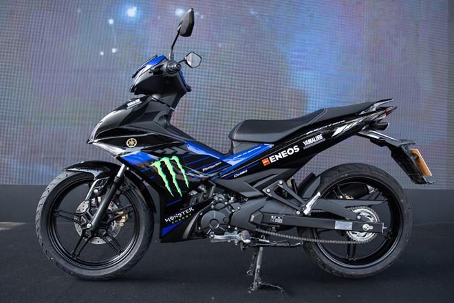 yamaha ra mat xe exciter monster energy motogp moi gia duoi 49 trieu