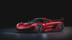 koenigsegg jesko red cherry edition ban one off lo dien