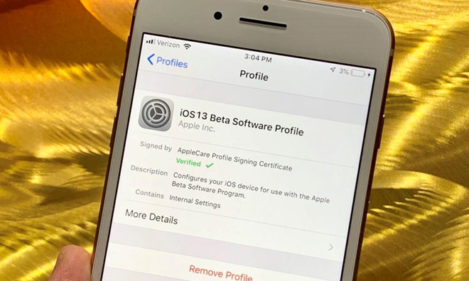 da co the tai ios 13 public beta cho iphone ipad