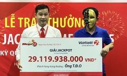 Tài xế ở Nghệ An trúng Jackpot hơn 29 tỷ đồng