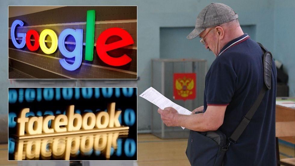 facebook va google bi to tac dong vao cuoc bau cu dia phuong o nga