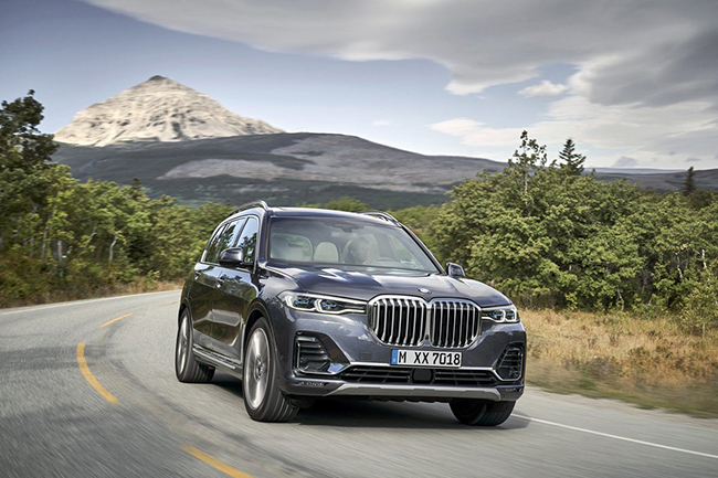 bmw x7 2019 suv hang sang co lon moi gia tu 73900 usd
