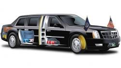 Công nghệ tuyệt mật trên Cadillac One của Tổng thống Trump