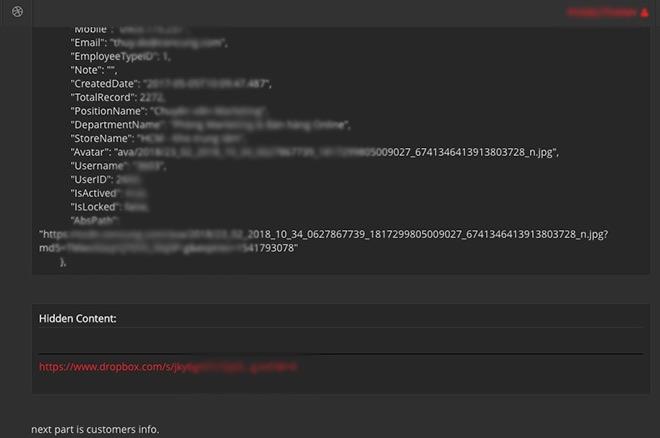 hacker phat tan du lieu cua 2272 nhan vien duoc cho la tai con cung