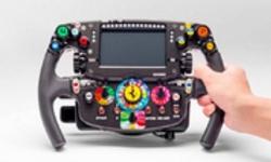 'Ma trận' nút bấm trên vô-lăng xe đua F1
