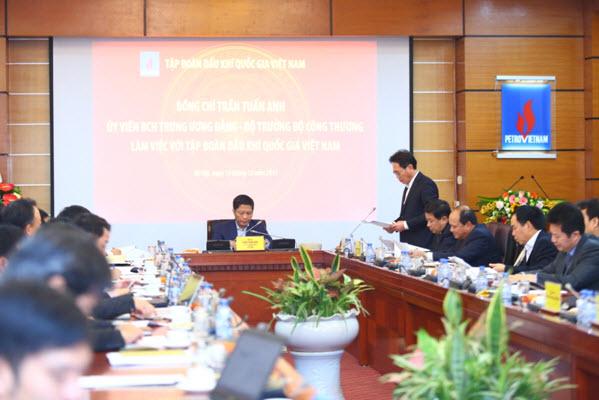 Tập đoàn Dầu khí Việt Nam đã cơ bản hoàn thành nhiệm vụ của cả năm 2017