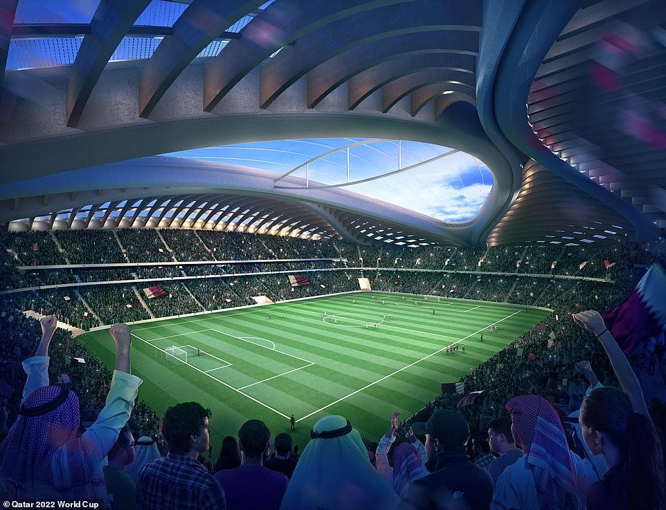 choang ngop truoc hang loat san van dong xuat hien trong world cup nam 2022