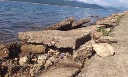 Sụt lún đe dọa hồ Kẻ Gỗ