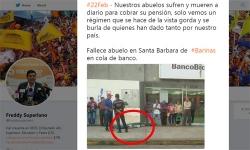 Cụ già Venezuela đột tử khi xếp hàng hai ngày chờ lĩnh 1,5 USD lương hưu