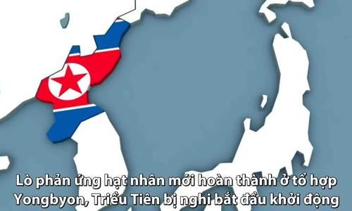Lò phản ứng hạt nhân bị nghi mới khởi động của Triều Tiên