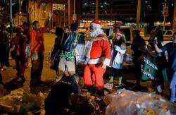 Giáng sinh buồn của người nghèo Venezuela