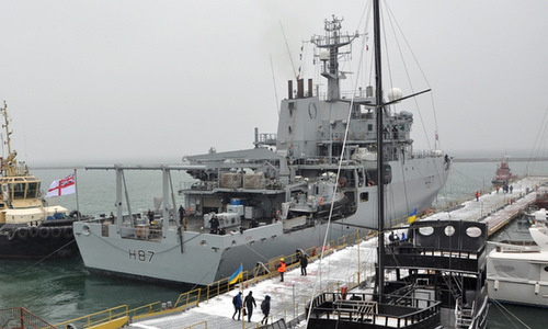 Anh điều tàu chiến cập cảng Ukraine nhằm 'gửi thông điệp cho Nga'