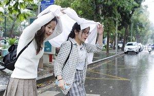 Hôm nay, mưa lạnh bao trùm Bắc Bộ