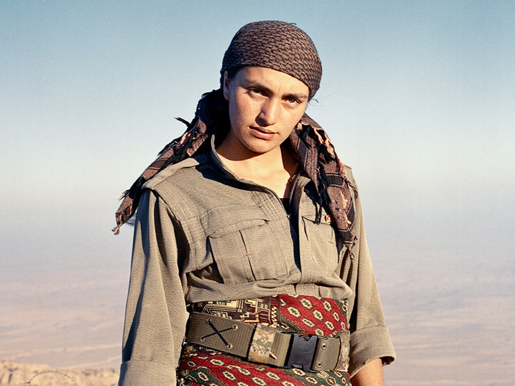 kurdistan xu so noi 40 cac chien binh la nu gioi