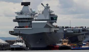 Anh điều tàu chiến đến Biển Đông, Trung Quốc lớn tiếng cảnh báo