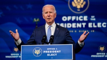 """Tổng thống đắc cử Joe Biden: Nền dân chủ Mỹ """"bị tấn công chưa từng có"""""""