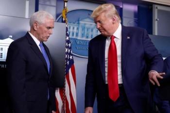 Ông Trump và Phó Tổng thống Pence nói gì sau khi