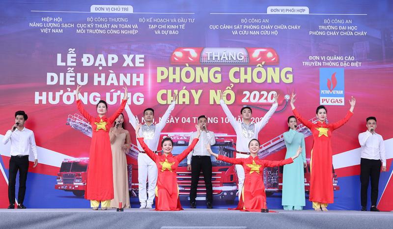 pv gas tang cuong cong tac an ninh an toan pccc dip tet va mua hanh kho 2021