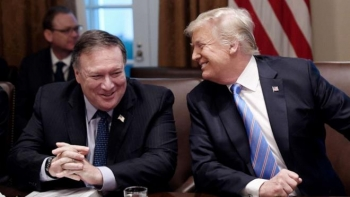 Sự trung thành đến phút cuối của Ngoại trưởng Mike Pompeo với Tổng thống Trump
