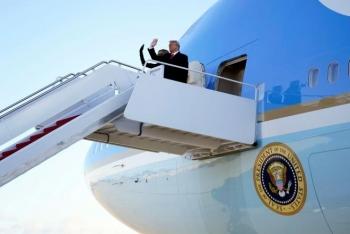 Chuyên cơ chở ông Trump rời Nhà Trắng có được gọi là Không lực Một?