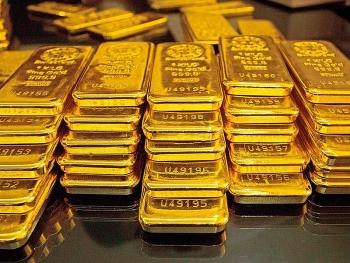 Giá vàng thế giới rơi thẳng đứng