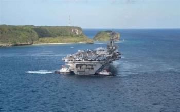 Đội tàu sân bay Mỹ đầu tiên vào Biển Đông trong nhiệm kỳ Tổng thống Biden