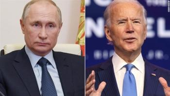 Lần đầu điện đàm với Tổng thống Putin sau nhậm chức, ông Biden nói gì?