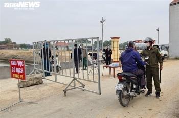 Bắc Ninh: Ngày đầu cách ly phòng dịch ở xã có 2 ca mắc COVID-19