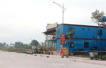 Phong tỏa tạm thời khu vực có nguy cơ lây nhiễm COVID-19 ở Vân Đồn, Quảng Ninh