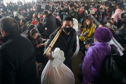 Cuộc đại di dân lớn nhất hành tinh: Hàng tỷ người Trung Quốc khăn gói về quê đón Tết