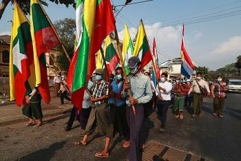 Mạng lưới viễn thông Myanmar bị chặn trong đảo chính