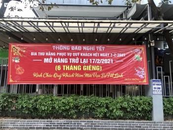 Điêu đứng giữa COVID-19, nhiều hàng quán Hà Nội đóng cửa nghỉ Tết sớm