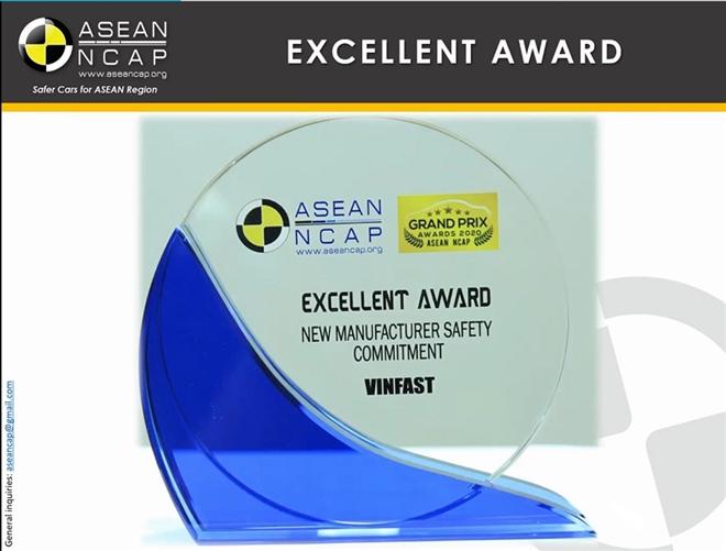 VinFast đoạt giải 'Hãng xe có cam kết cao về an toàn' ASEAN NCAP - 5
