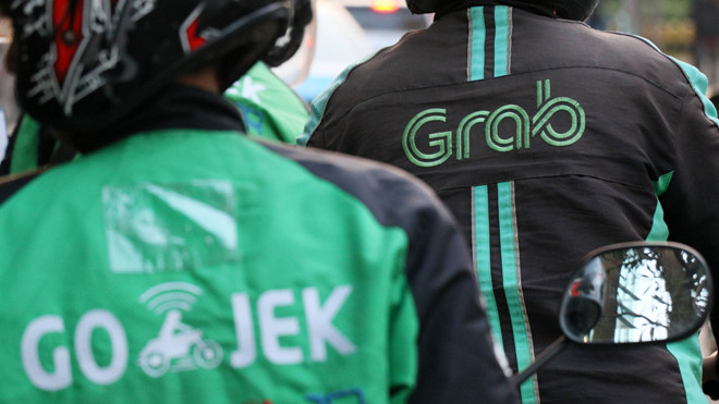 grab duoc softbank rot them 15 ty usd quyet thang go jek o indonesia