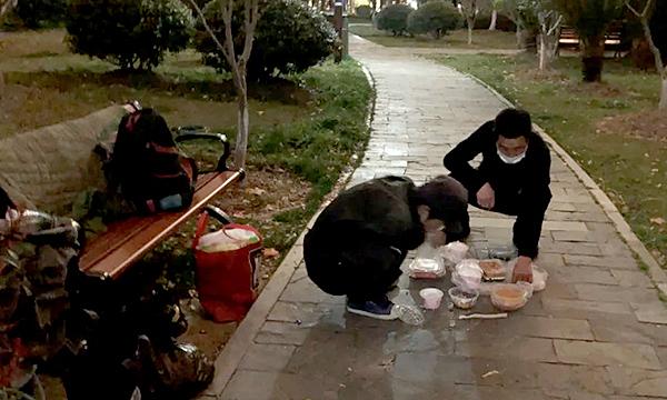 Những người mắc kẹt ở Vũ Hán