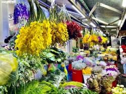 Chợ hoa lớn nhất TP.HCM