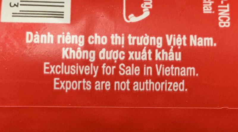su that hang danh rieng cho viet nam cam duoc xuat khau