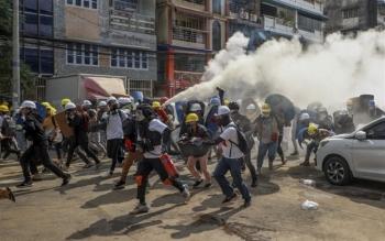 Sau 2 ngày đàm phán căng thẳng, LHQ ra tuyên bố lên án mạnh mẽ bạo lực ở Myanmar