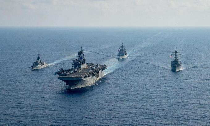 Australia lên kế hoạch cùng Mỹ bảo vệ đảo Đài Loan