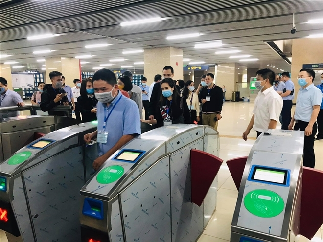 Hành khách sẽ đi tàu đường sắt trên cao Cát Linh - Hà Đông thế nào? - 25