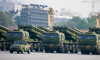 Trung Quốc điều pháo phản lực tầm xa tới gần Ấn Độ