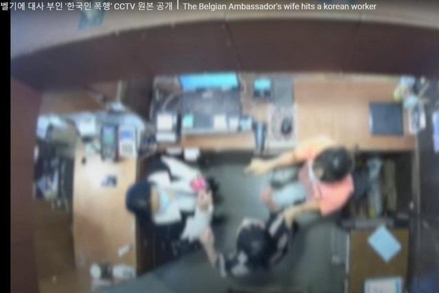 Dân Hàn kêu gọi Bỉ triệu hồi đại sứ về nước sau khi vợ tát người bán hàng